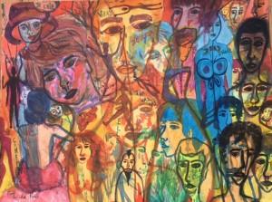 Histoire de la peinture et de la gravure les milliers d'artistes me précèdent